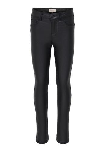ONLY black Royal Coated Skinny Pants E30F6KA7932364GS_1