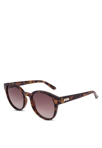 Le Specs brown Paramount Sunglasses E6E85GL370CAF8GS_1