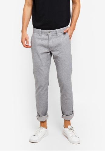 ESPRIT 灰色 Woven Length Service Pants AF871AA3B3BF56GS_1