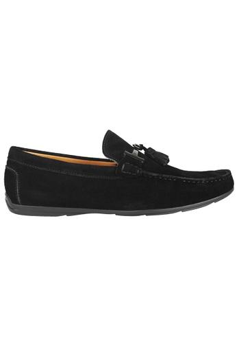 Tomaz black Tomaz C236 Buckled Tassel Loafers (Black) 6348CSH3A96BBCGS_1