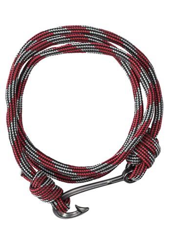 Panama 掛鉤繩索纏繞式手環, 飾品esprit暢貨中心配件, 飾品配件