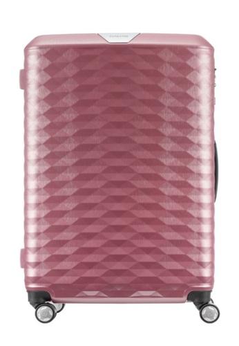 Samsonite pink Samsonite Polygon Spinner 75/28 Luggage 9FEB3AC3FF1E24GS_1