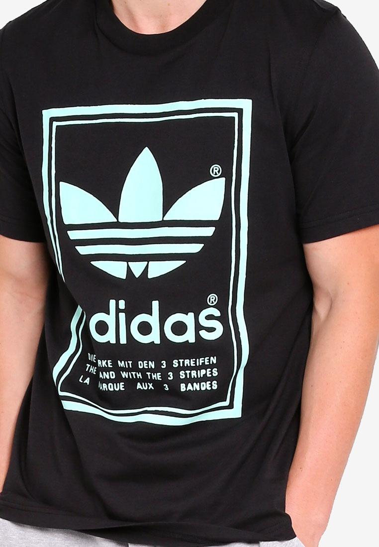 tee Black adidas vintage adidas originals CExwxvYq0