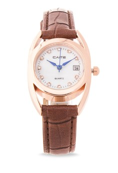 Leather Analog Watch M-835