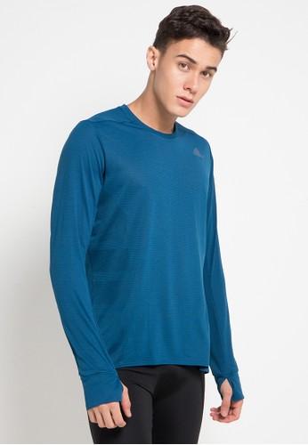 adidas blue Adidas Supernova Long Sleeve Tee Mens 33580AAA5A03E4GS_1