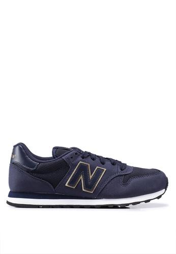 navy new balance 500