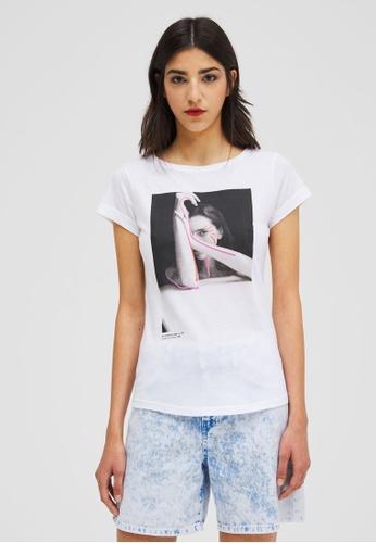Sisley Printed T-shirt DC60EAA50DAFA9GS_1