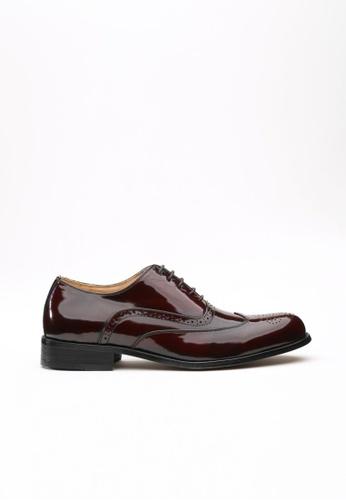 Kings Collection brown Clifton Classic Oxford Shoes KI358SH73DFESG_1