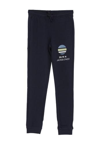 Jack & Jones navy Powertrack Junior Sweatpants 99B4AKAF487F86GS_1