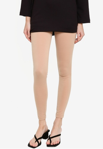 ZALIA BASICS beige Slim Fit Inner Leggings 12B0BAA55C6343GS_1