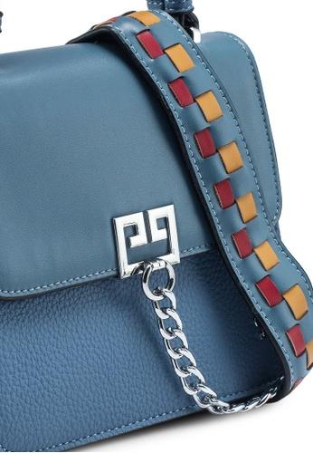 PLAYBOY BUNNY blue Ladies Handbag 75D4DAC34D1FD9GS_1