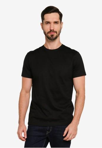 Banana Republic black Authentic Crew Neck T-Shirt CFA97AA16B8829GS_1