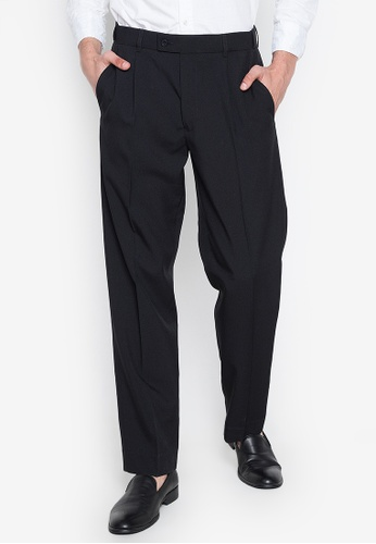 really comfortable release date: get new The Collection - Black Plain Pleated Regular Trousers