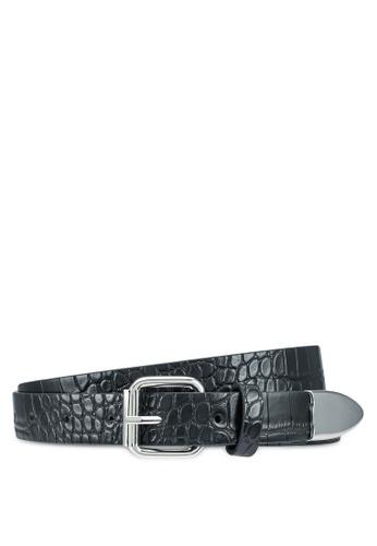 Pieces black Duna Jeans Belt 1BC52AC9C72D54GS_1