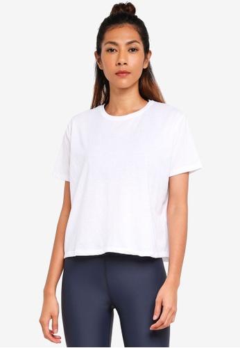 Cotton On Body white Boxy T-Shirt 38F37AA5F2F0F2GS_1