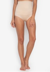 Maidenform beige Maidenform Hi-Waist Brief 5B289USA19E06FGS_1