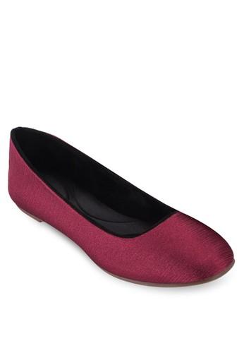 簡約圓esprit 會員形鞋頭平底鞋, 女鞋, 鞋