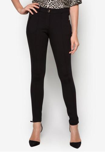 Posh Ponte 貼身zalora 評價長褲, 服飾, 短褲