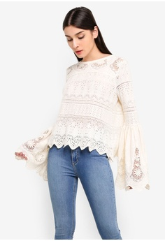 f778f563fb4e ... NOW RM 107.90 Sizes XS S M. Free People white Once Upon A Time Top  90F97AAA53E2BBGS 1