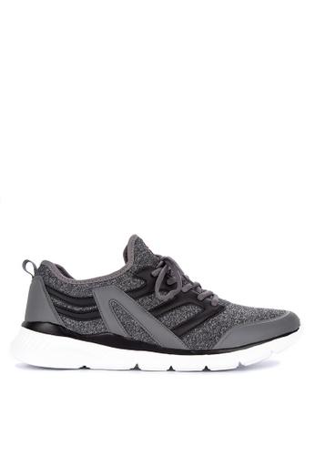 Fila grey Assign Running Shoes 8F096SH1A8D676GS_1