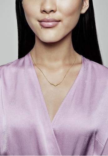 Buy PANDORA Pandora Shine Polished Wishbone Necklace Online ...