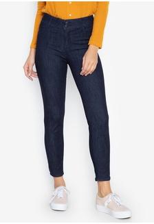 b54fbac95a8 Women Super Shaper Basic Five Pocket Regular Waist Skinny Jeans