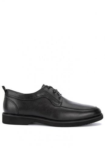 Sledgers black Peoria Lace Up Office Shoes 02BA5SH7FD144DGS_1