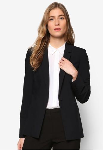 esprit hkEssential 單鈕西裝外套, 服飾, 外套