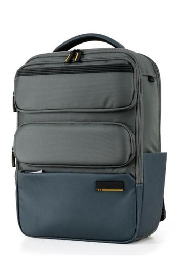 "Samsonite grey Samsonite Cityscape II LP Backpack 15.6"" 3 PT 4D5E7AC88931B1GS_1"