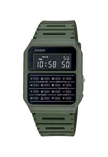 Casio green Casio Databank Calculator Watch (CA-53WF-3B) 4F7E8AC5090D10GS_1