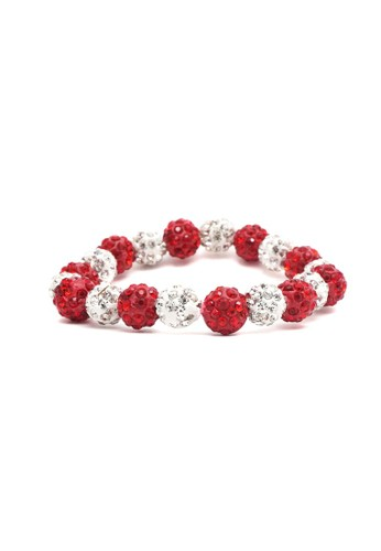 Istana Accessories red Gelang Keyzia Diamond Fashion Bracelet 8095DAC4E9F6BEGS_1