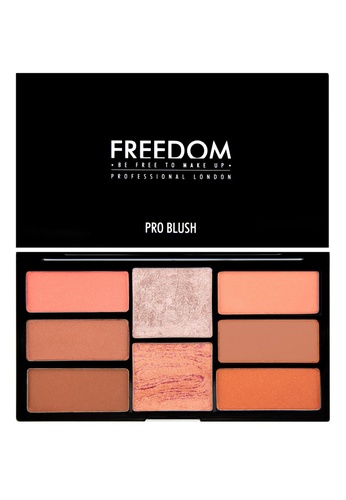 Freedom Makeup Freedom Pro Blush Palette Peach and Baked FR785BE68DGXSG_1