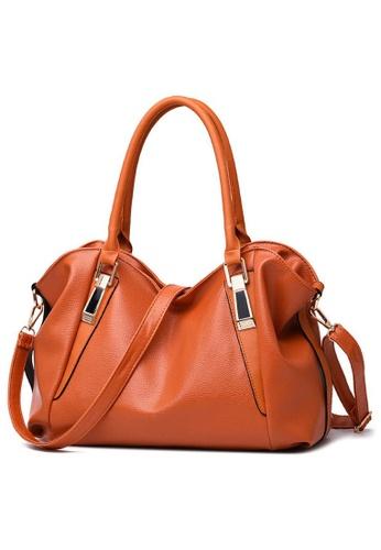 TCWK brown Ladies Handbag TC258AC05XECMY_1