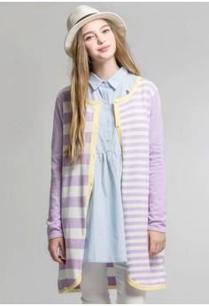 Pastel Perfect Knit Long Cardigan