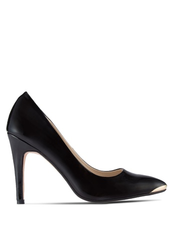 ZALORA black Patent PU Pumps with Metal Toe Cap 26C1ESH703A1C0GS_1