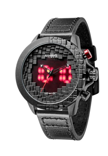 Assassin's Time black Assassin's Time BLOCK Black Leather 68822AC1B4AD05GS_1