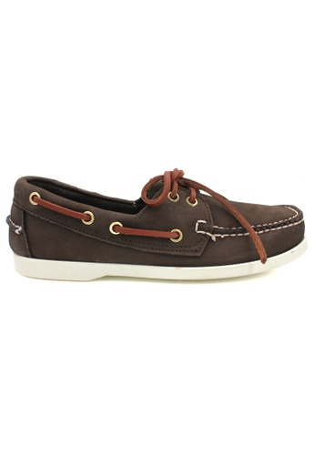 midzone brown SCORPION Leather Loafer 20110SH899DDC6GS_1