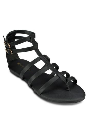 Nala 多帶繞踝涼鞋, 女esprit旗艦店鞋, 鞋
