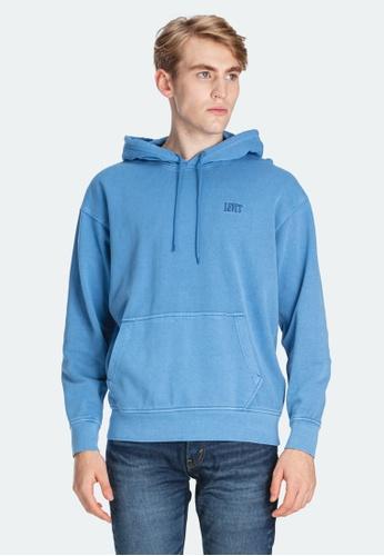 Levi's blue Levi's Authentic Pullover Hoodie Men 85534-0001 5AC58AA7D451ECGS_1