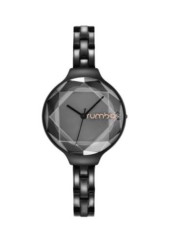 RumbaTime black Rumbatime Orchard Gem Stainless Steel Black RU023AC2VN2XHK_1
