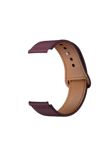 Kings Collection Jujube Red Genuine Leather Apple Watch Band 42MM / 44MM  (KCWATCH1023) 2BB0FAC611A074GS_1