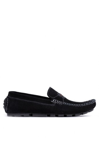 Tony Perotti black Tony Perotti Loafers Benjamin - Black 50F48SH5D5617BGS_1