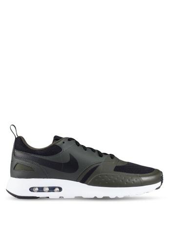 Nike black and green Men's Nike Air Max Vision Shoes NI126SH0RMQSMY_1