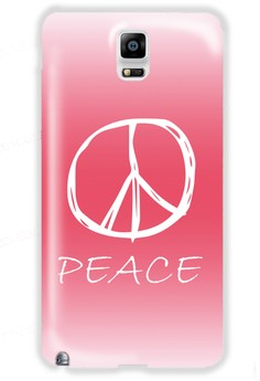 Peace Sign Hard Case for Samsung Galaxy N4