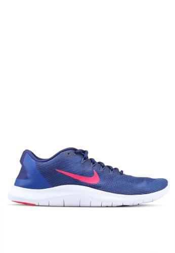 Nike blue Nike Flex Rn 2018 Shoes B7DF2SH11B11FCGS_1