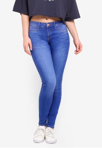 River Island blue Molly Berry Jegging 2708AAABB8770DGS_1