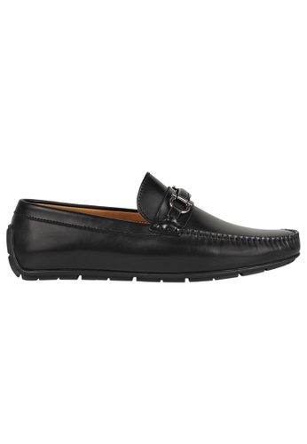 Tomaz black Tomaz C316 Front Buckled Loafers (Black) 73D9DSH723529EGS_1