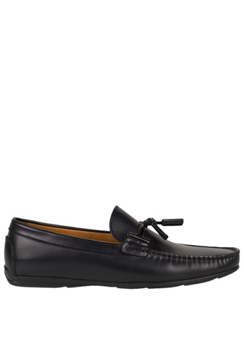 Tomaz black Tomaz C339 Buckled Tassel Loafers (Black) 32E57SH66F0DDDGS_1