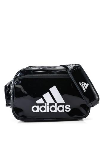 ADIDAS black adidas enamel bag 12E59AC58B2841GS_1