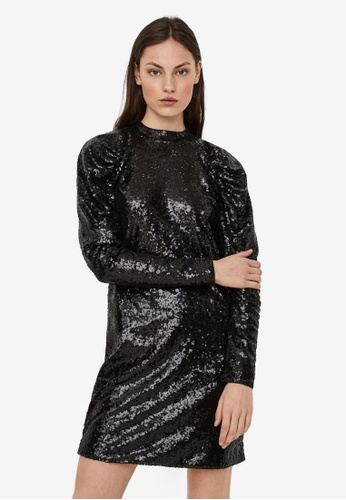 Vero Moda black Jagger Short Dress 5F868AA601980CGS_1